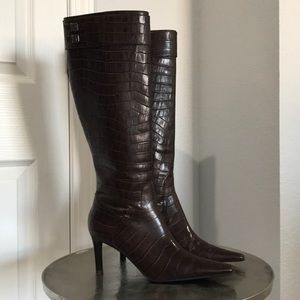 (NWOB) Lauren Ralph Lauren Alston leather boots
